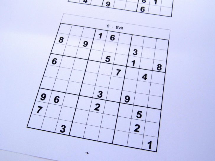 Printable Sudoku Booklet Free