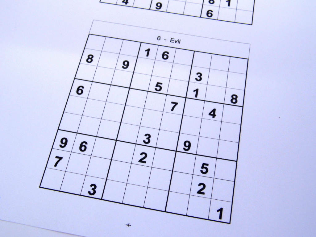 Free Sudoku Puzzles – Free Sudoku Puzzles From Easy To Evil Level | Sudoku Printable Hard 6 Per Page