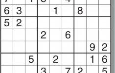 Printable Sudoku For Free