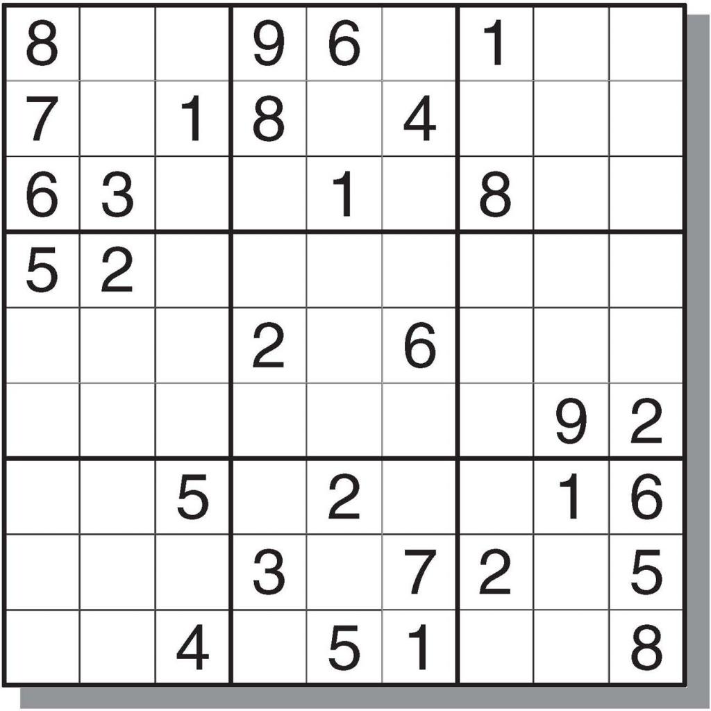 Free&easy Printable Sudoku Puzzles | Sudoku | Sudoku Puzzles | Printable Sudoku For Free