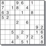 Free&easy Printable Sudoku Puzzles | Sudoku | Sudoku Puzzles | Printable Sudoku Free