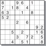 Free&easy Printable Sudoku Puzzles | Sudoku | Sudoku Puzzles | Printable Sudoku Games Free