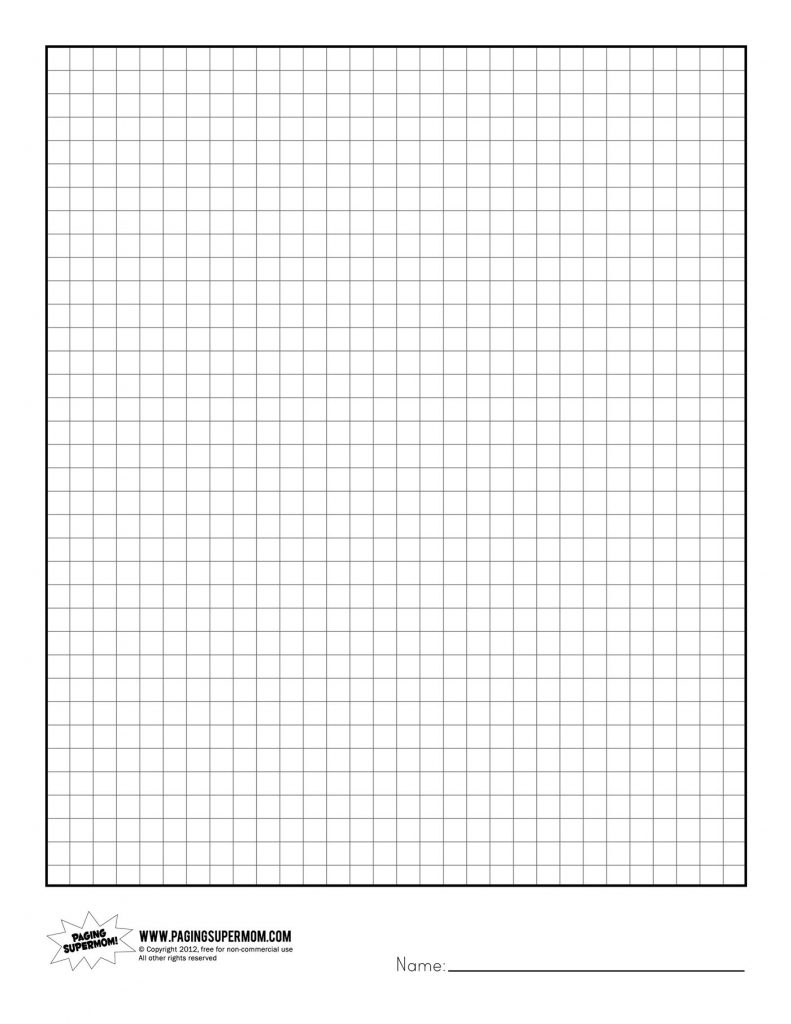 Graphing Paper Printable | Ellipsis | Printable Sudoku Graph Paper