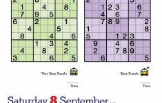 Printable Sudoku Of The Day