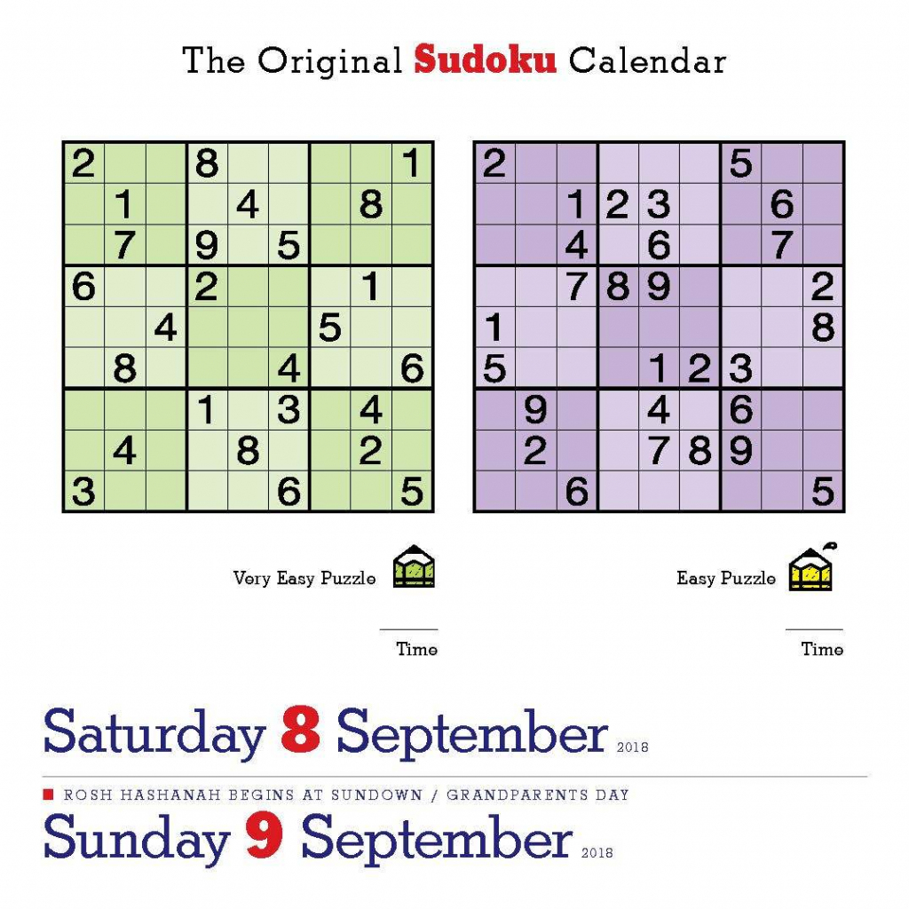 Happy International Sudoku Day! Page-A-Day | Sudoku Tough Printable
