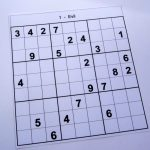Hard Printable Sudoku Puzzles 2 Per Page – Book 1 – Free Sudoku Puzzles | Printable Sudoku Hard 1 Per Page