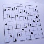 Hard Printable Sudoku Puzzles 2 Per Page – Book 1 – Free Sudoku Puzzles | Printable Sudoku Puzzles 1 Per Page