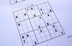 Printable Sudoku 6 To A Page