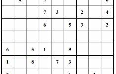 Hard Puzzle | Free Sudoku Puzzles | Printable Sudoku Hard 4 Per Page