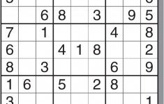 Free Printable Hard Sudoku Puzzles