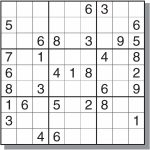 Hard Sudoku Printable   Canas.bergdorfbib.co | Printable Giant Sudoku
