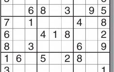 Printable Sudoku Adults