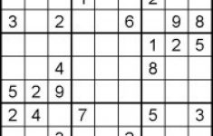 Hard Sudoku Puzzles For Kids – Free Printable Worksheets Pertaining | Printable Sudoku Puzzles Medium #1