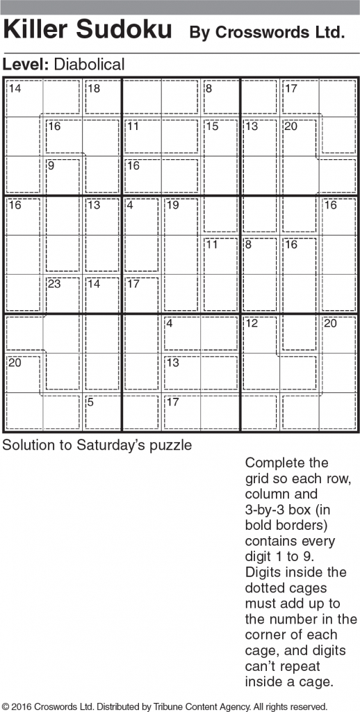 How To Solve Diabolical Sudoku | Printable Sudoku Diabloic Puzzles
