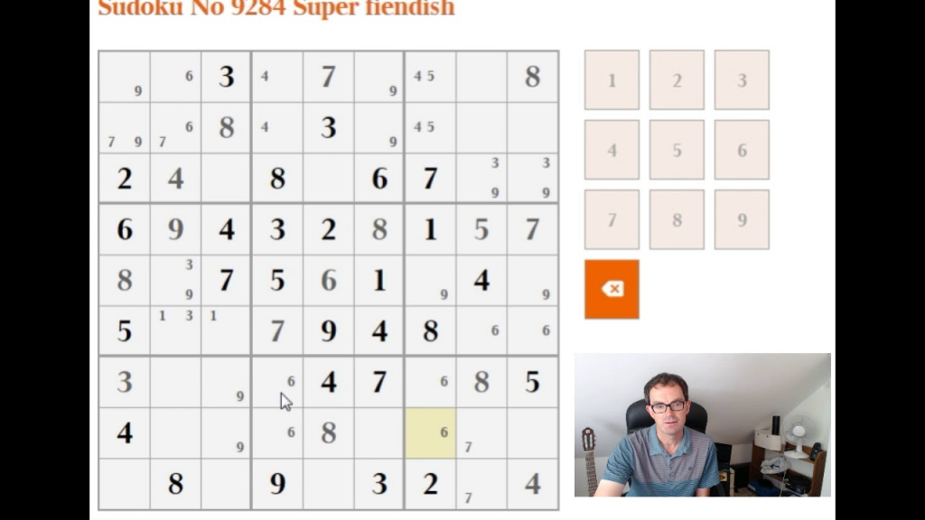 How To Solve The Super Fiendish Sudoku - Youtube | Printable Sudoku Fiendish