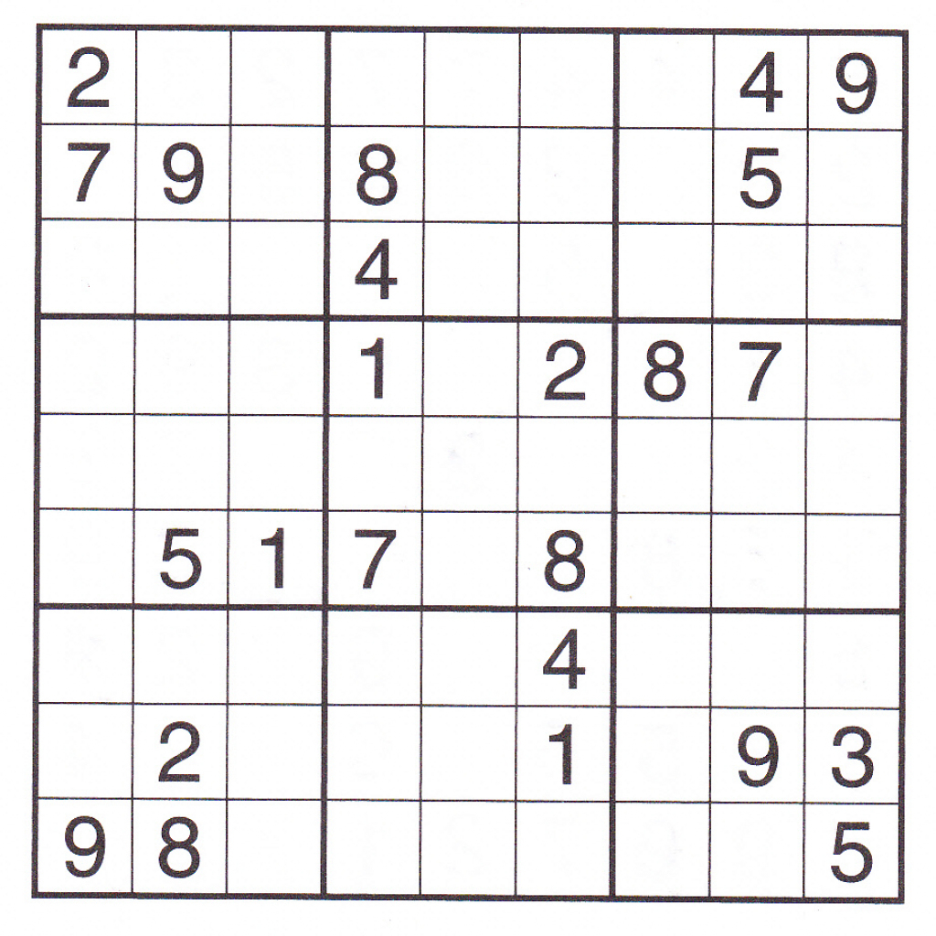 Images: Free Printable Sudoku Puzzles 6X6, - Best Games Resource | Printable Sudoku Unblocked