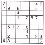 Images :free Printable Sudoku Puzzles 6X6 , Printable Sudoku | Printable Sudoku For Kids Free