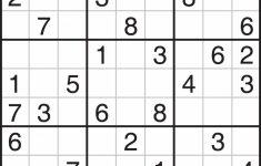 Printable Sudoku Unblocked