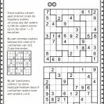 Juf Stuff Pentomino Sudoku 2.pdf | Pentominoes | Classroom Games | Sudoku Printable 5Th Grade