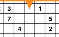 Printable Sudoku Fill Ins