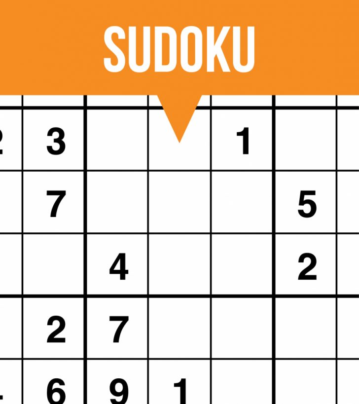 Printable Sudoku Puzzles Easy #4