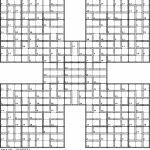 Killer Samurai Sudoku | Puzzles | Samurai, Puzzle, Challenging Puzzles | Printable Giant Sudoku Puzzles