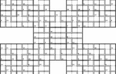 Printable Giant Sudoku Puzzles