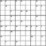 Killer Sudoku 589 | Life And Style | The Guardian | Sudoku Printable Version