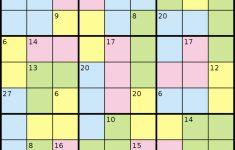 Killer Sudoku – Wikipedia | Printable Sum Sudoku Puzzles