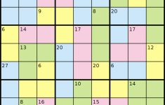Killer Sudoku – Wikipedia | Sudoku 2X3 Printable