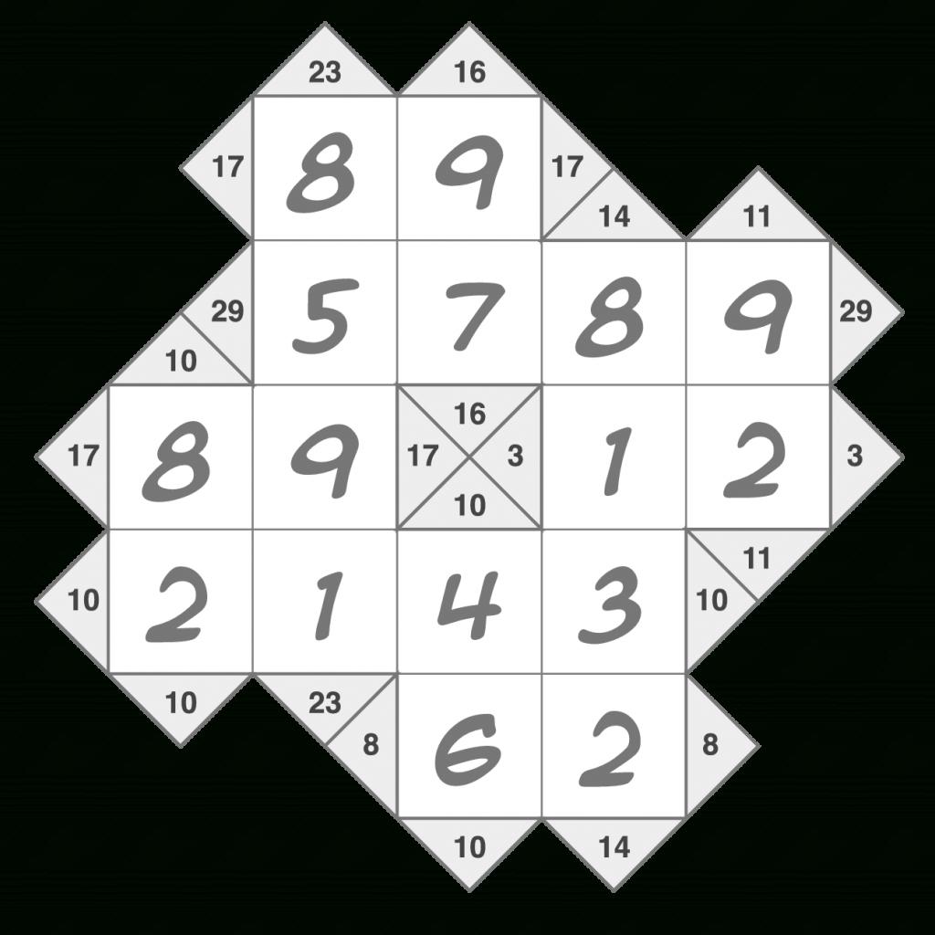 Krypto Kakuro Puzzleskrazydad | Krazydad Printable Sudoku