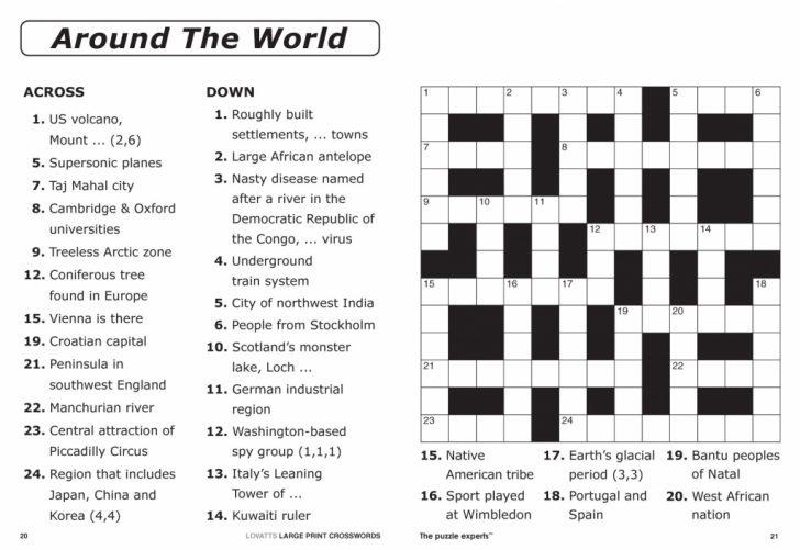 Printable Sudoku Crossword