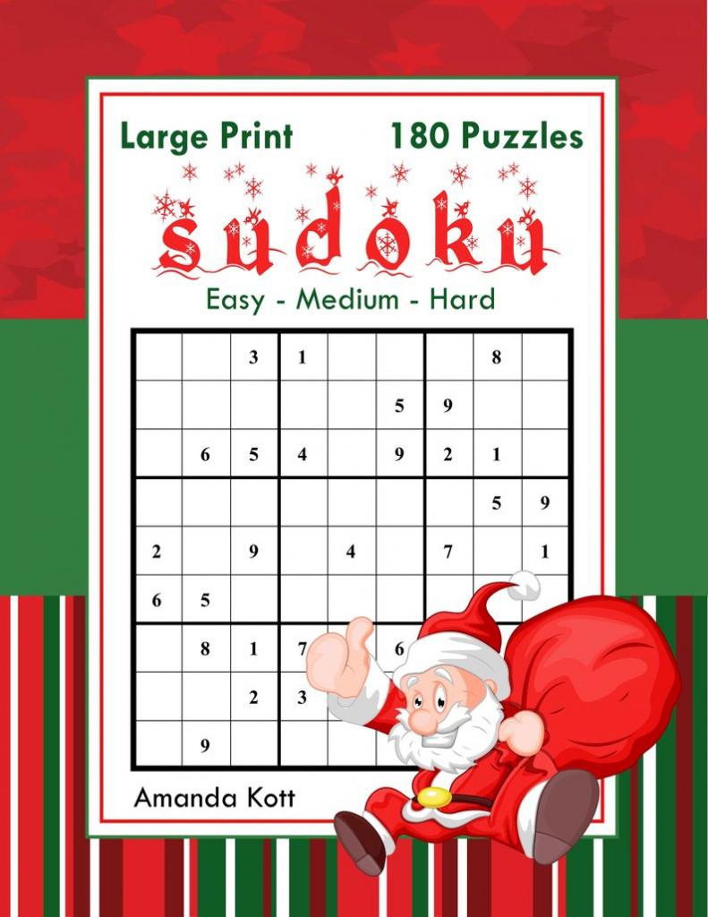 Large Print Sudoku Christmas 180 Easy To Hard Puzzles: | Etsy | Printable Sudoku 2 Per Page Mild