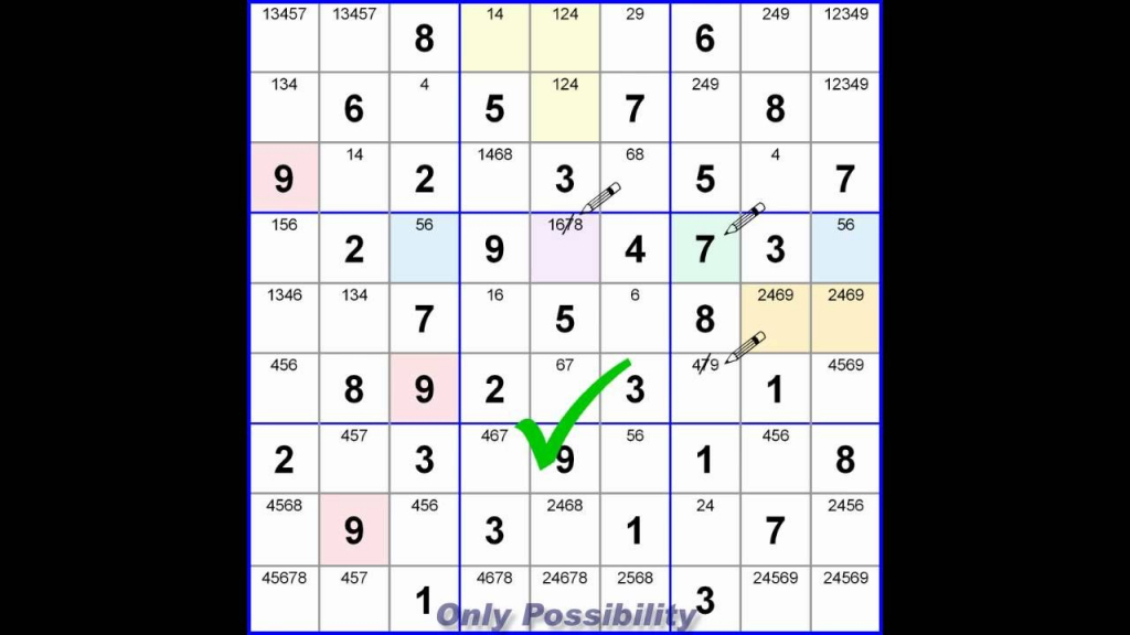 Learn To Play Sudoku, Part 1 | Sudoku | Sudoku Puzzles, Number | Printable Sudoku 1Sudoku