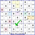 Learn To Play Sudoku, Part 1 | Sudoku | Sudoku Puzzles, Number | Printable Sudoku With Candidates