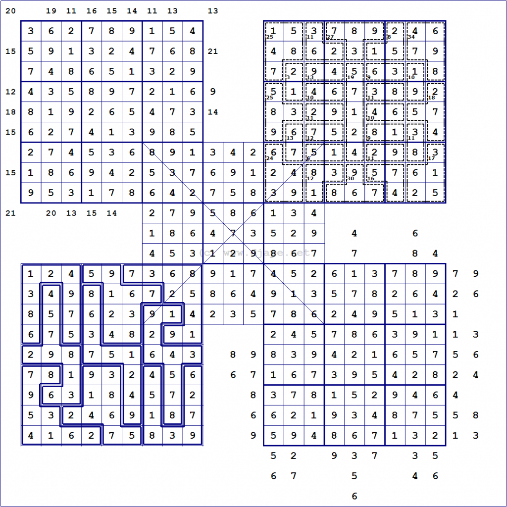 Loco Sudoku | Printable Sudoku With Candidates