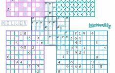Printable Triple Sudoku Puzzles