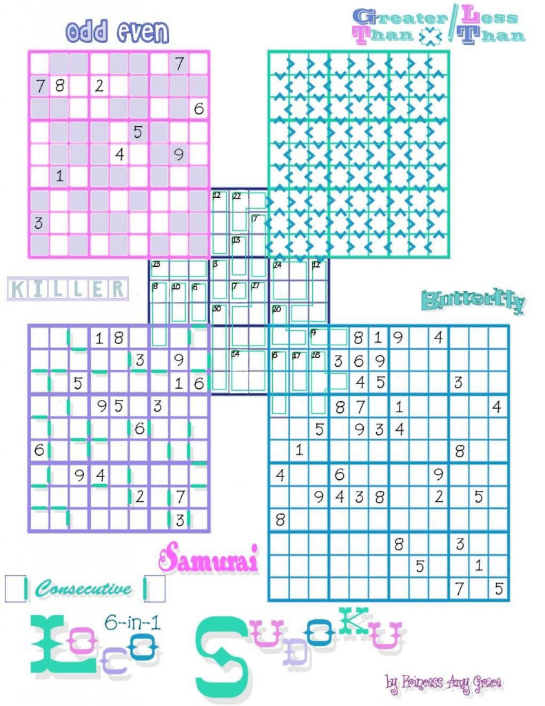 Loco Sudoku | Puzzles---Crossword-Sudoku-Jigsaw&???? | Sudoku | Zigzag Sudoku Printable Download