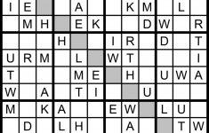 Magic Word Square: June 2013 | Printable Sudoku 7X7