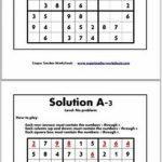 Math Riddles Kindergarten Worksheet Brain Games | Www.galleryneed | Printable Sudoku For Ks2