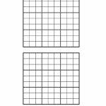 Minimum Sudoku | Printable Sudoku Grids With 2 On A Page