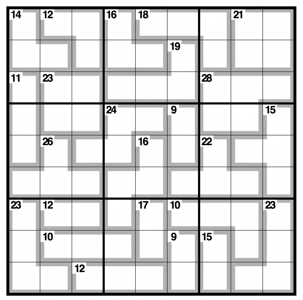 Observer Killer Sudoku | Life And Style | The Guardian | Printable Sudoku Uk