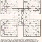 On Sudoku Downloads Hard Samurai Sudoku Download 100 Printable Hard | Printable Samurai Sudoku Download