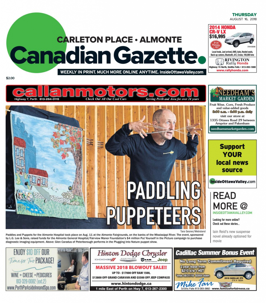 Otv_C_A_20180816Metroland East - Almonte Carleton Place Canadian | Printable Sudoku In The Cedar Rapids Gazette