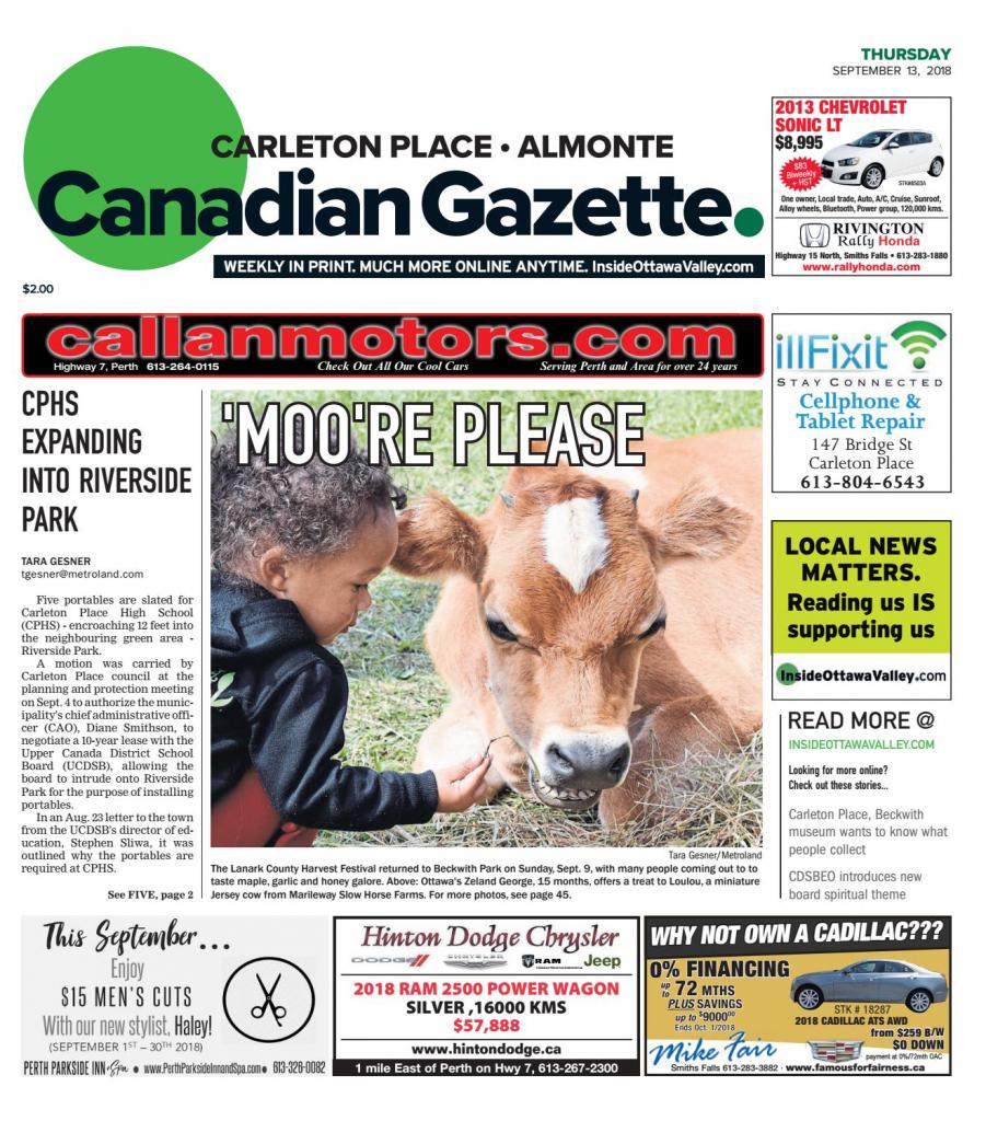 Otv_C_A_20180913Metroland East - Almonte Carleton Place Canadian | Printable Sudoku In The Cedar Rapids Gazette