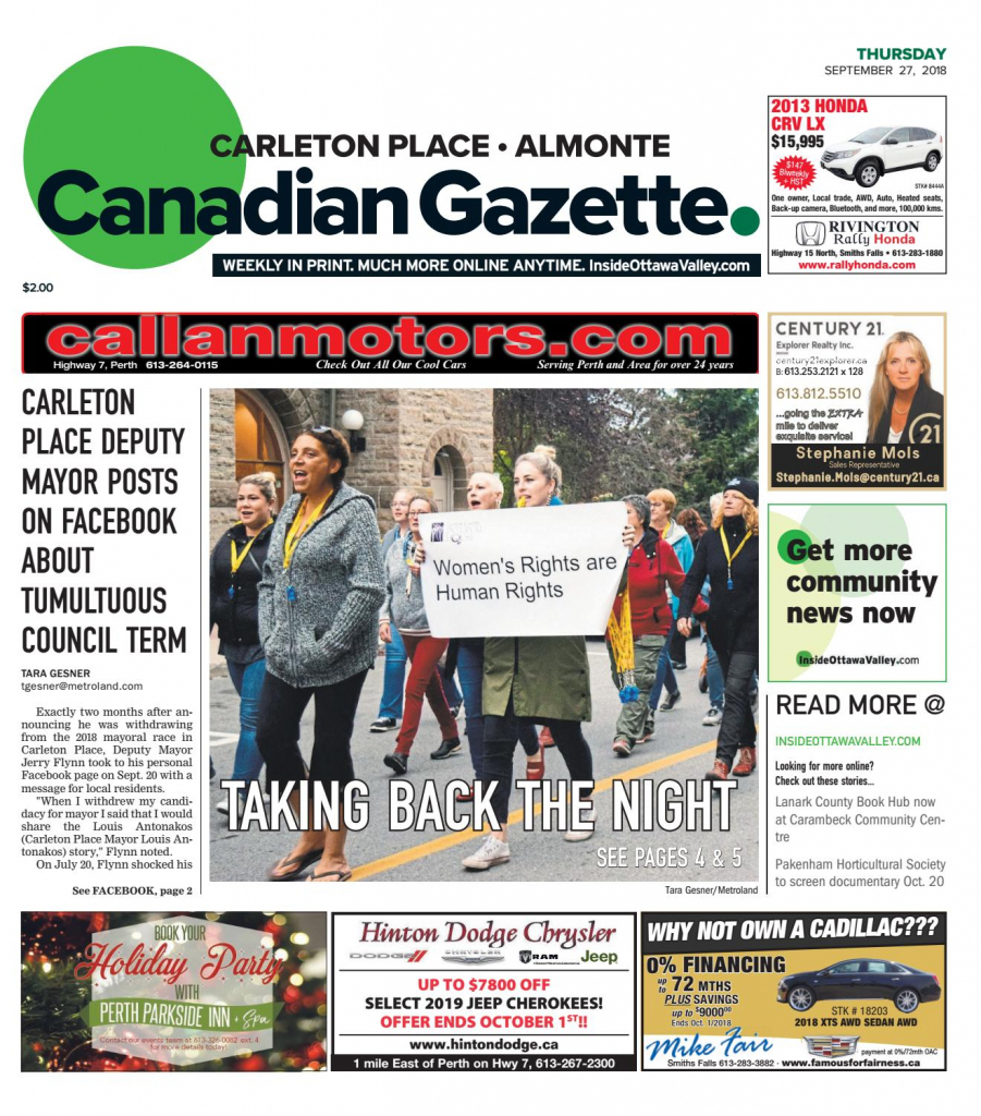Otv_C_A_20180927Metroland East - Almonte Carleton Place Canadian | Printable Sudoku In The Cedar Rapids Gazette