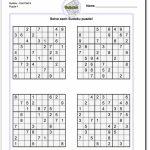 Pindadsworksheets On Math Worksheets | Sudoku Puzzles, Math | Printable Sudoku For Middle School