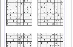 Printable Sudoku Medium Level