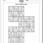 Pinheather Gardner On Art | Sudoku Puzzles, Maths Puzzles, Math | Printable Sudoku Triples