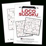 Print At Home Loco Sudoku – Kappa Puzzles | Printable Loco Sudoku